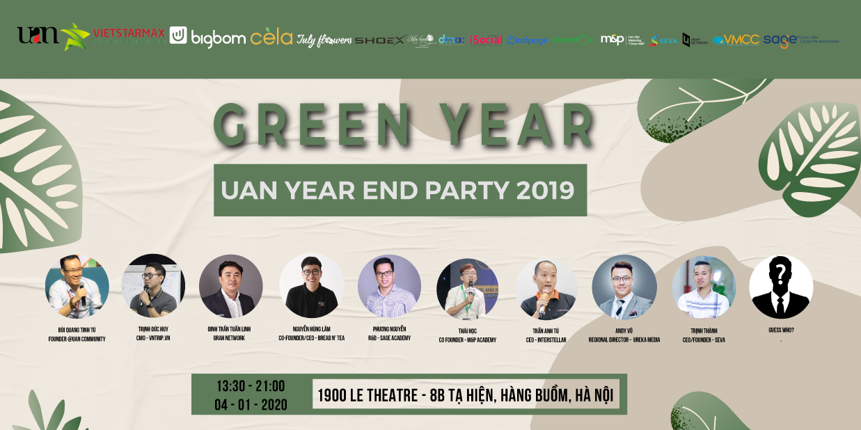 HN UAN YEAR END PARTY 2020 - GREEN YEAR
